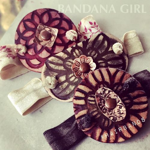 My New leather ponytail bands! Fun new colors and textureshellip