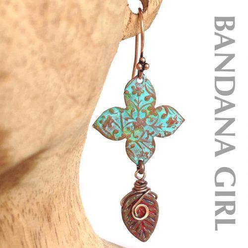 My new leaf falljewelry earrings patina boho shoulderdusters earrings patinageartistiquehellip