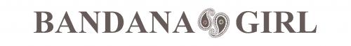 Bandana Girl logo with paisley icon