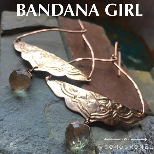 Designing with bronze today  so rich and beautiful! handcraftedhellip