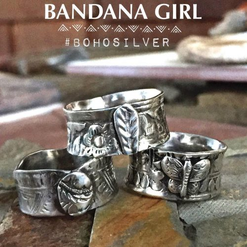 Tower of bohorings rough and rusticchic in argentiumsilver riojeweler
